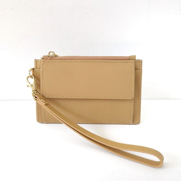 Mighty Mini Wallet. Butterscotch