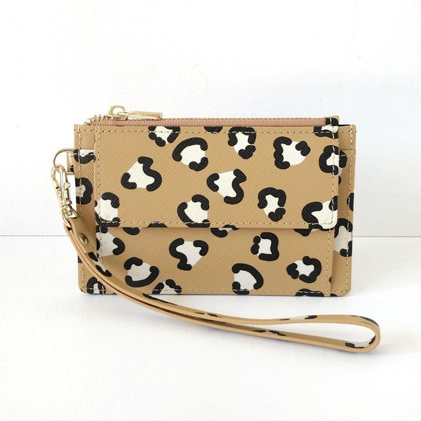 Mighty Mini Wallet. Leopard Love.