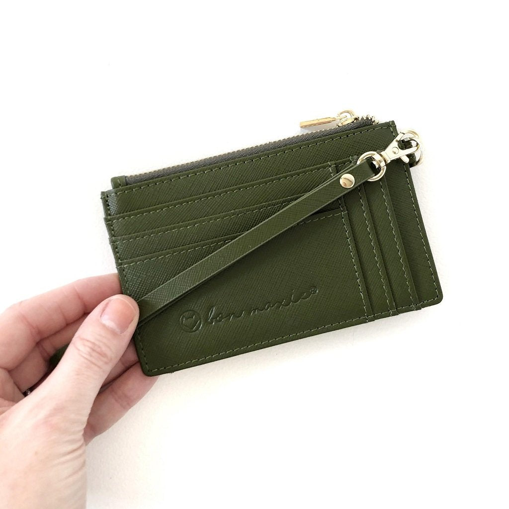 Might Mini Wallet Olive