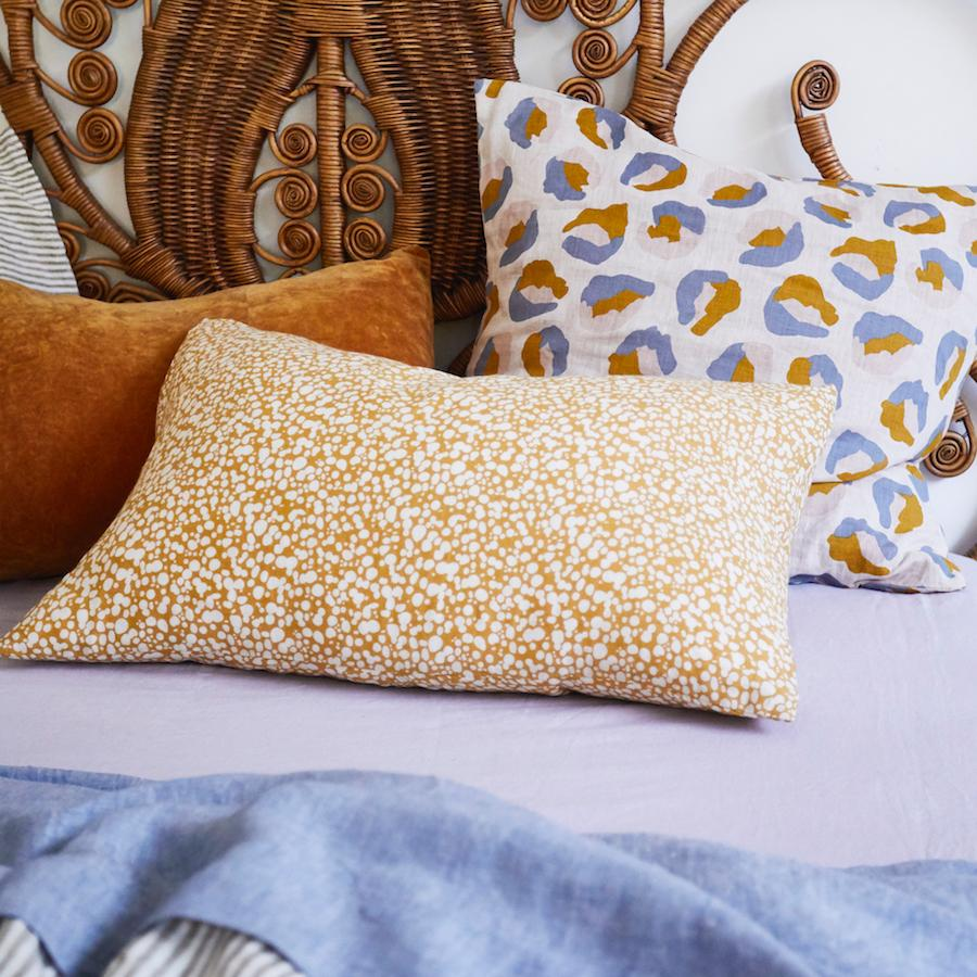 Paloma Linen Standard Pillowcase Set