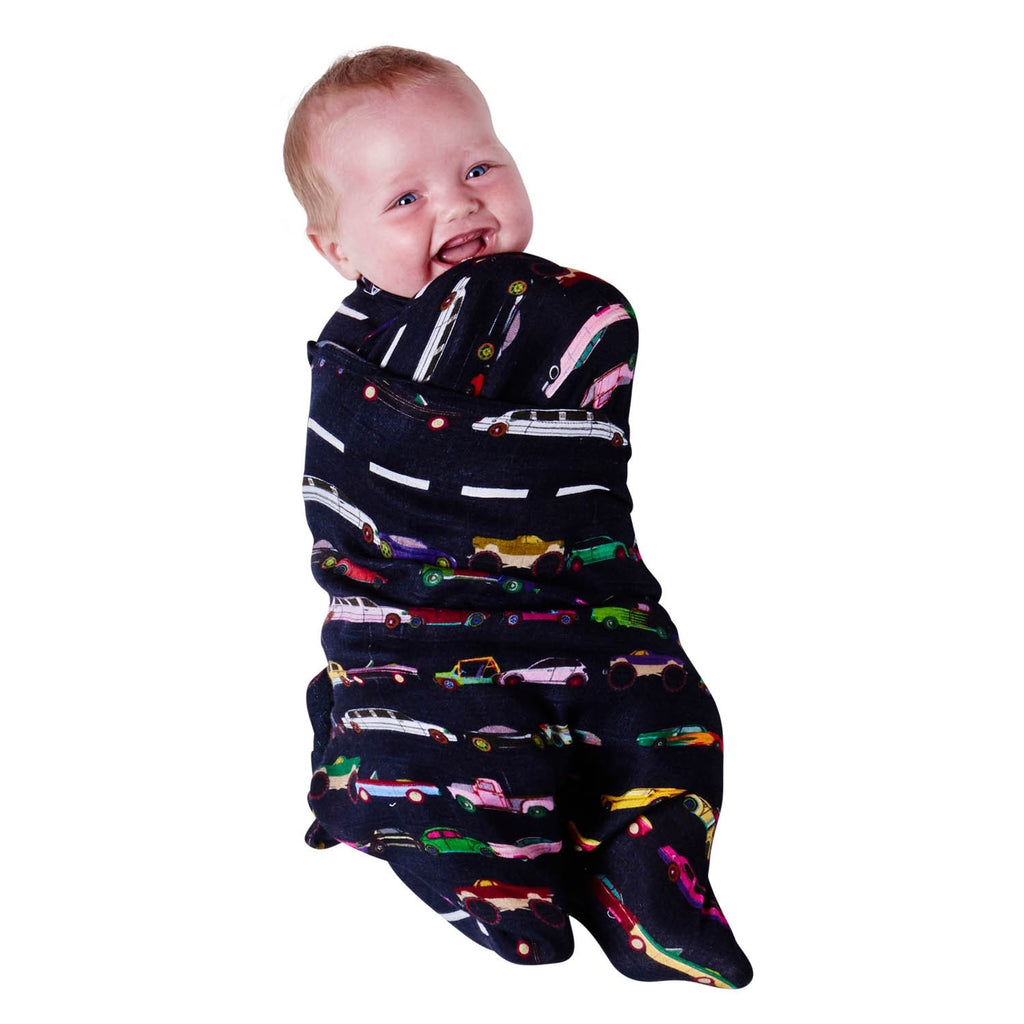 Speed Racer & Dash Emerald Bamboo Swaddle Set