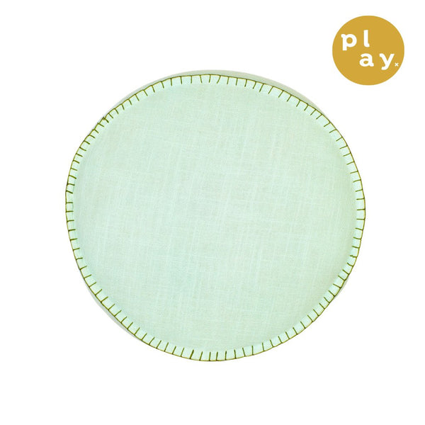 Rylie Round Cushion- Powder