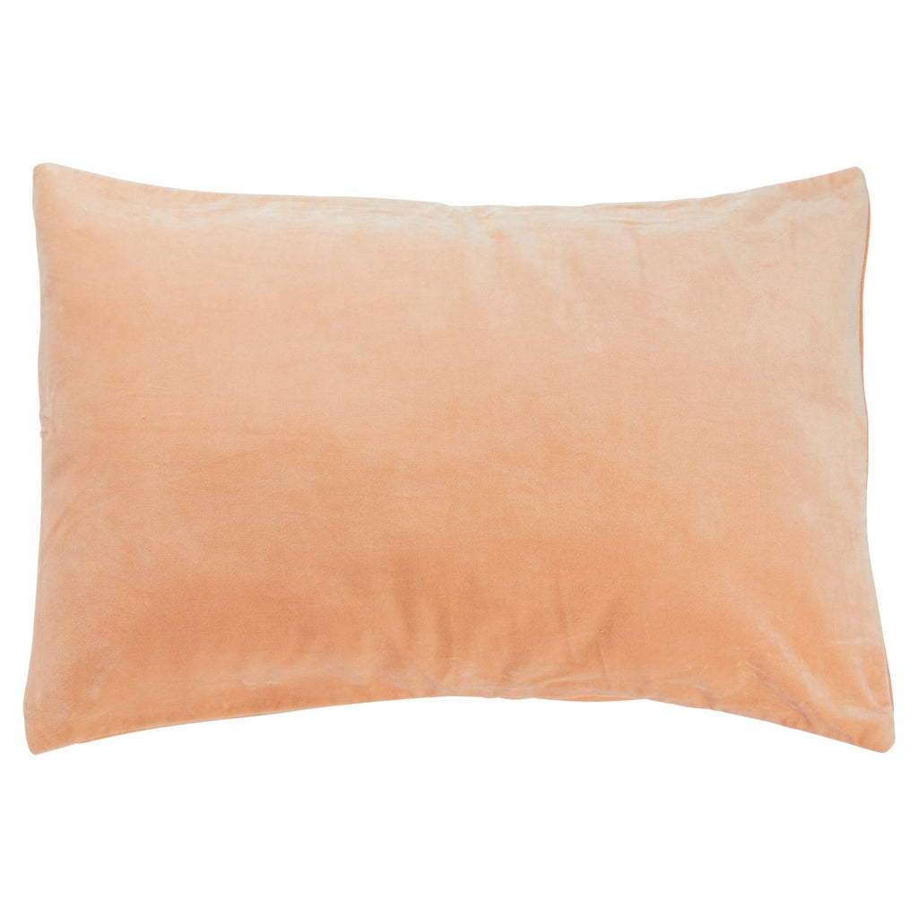Tanis Velvet Pillowcase- Peach