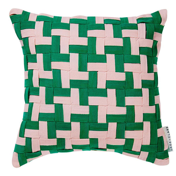 Verona Houndstooth Cushion
