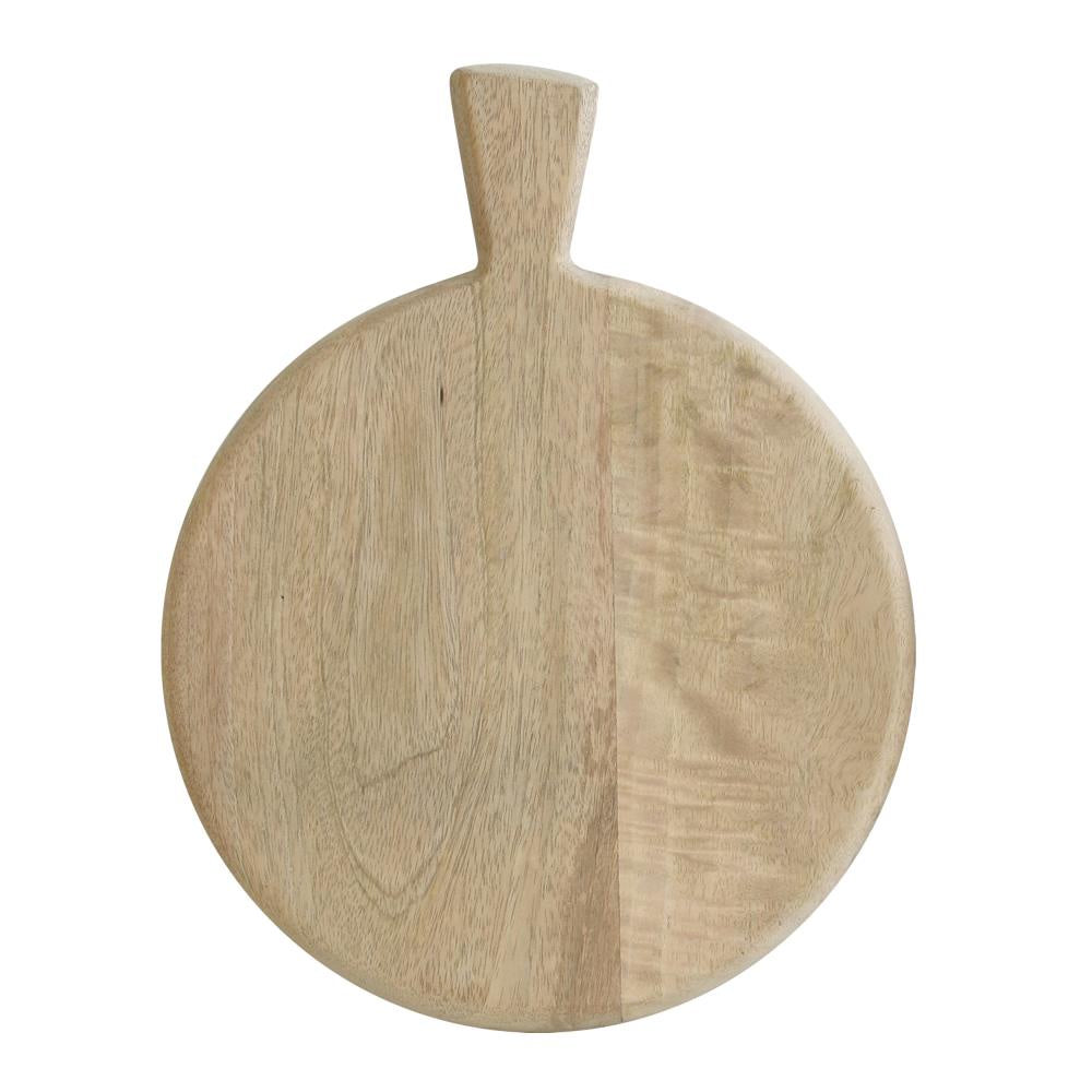 Mango Wood Plate With Handle