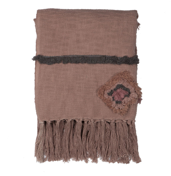 Desert Rose Throw