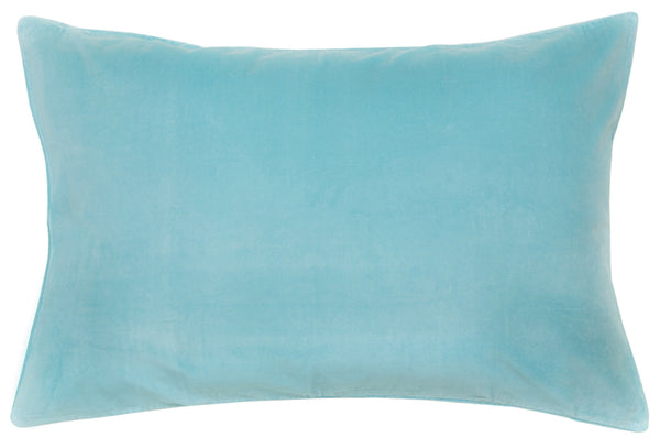 Blue Velvet Pillowcase