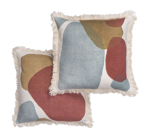 Chameleon Cushion- Terracotta