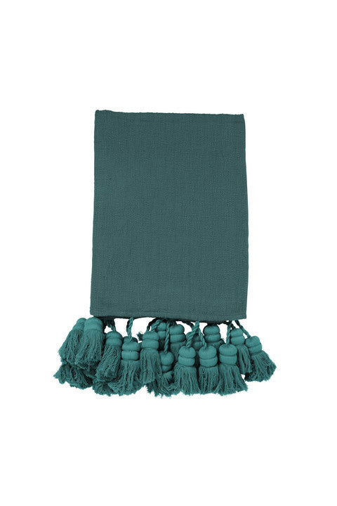 Alpine Tassel Throw