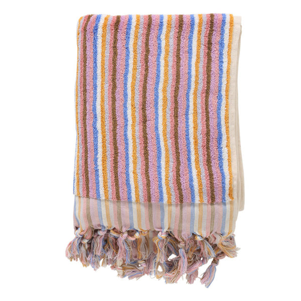 Skinny Stripe Bath Towel