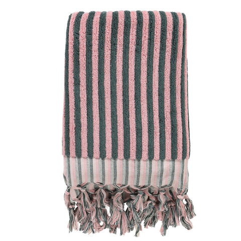 Fat Stripe Bath Towel
