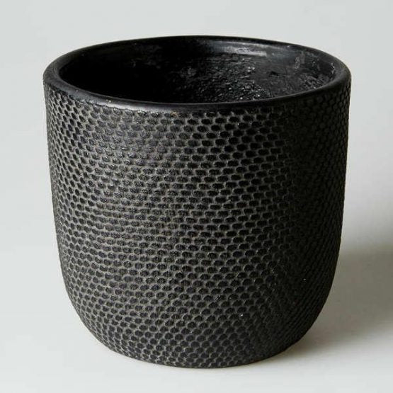 Tweed Pot Black