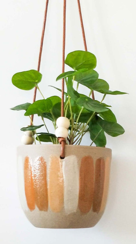Citrus Hanging Planter Sand Orange S 13cm