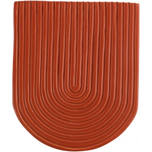 Rainbow Wall Vase- Terracotta