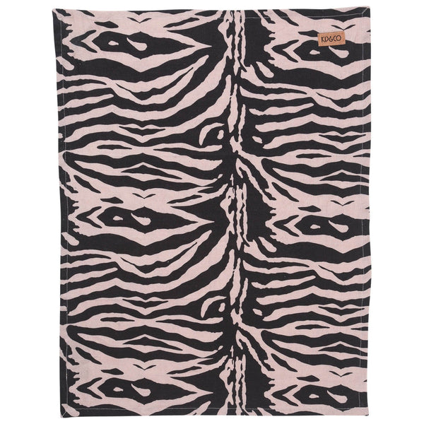 Zebra Crossing Linen Tea Towel