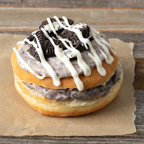 Cookies & Cream Cookie Doughnut