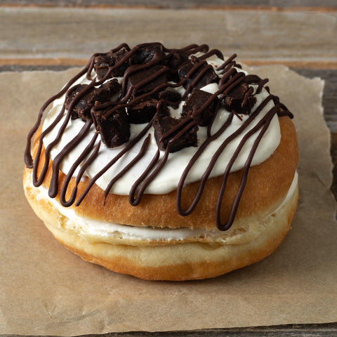 Boston Creme Cookie Doughnut