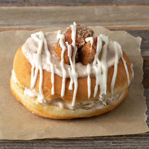 Cinnamon Cookie Doughnut