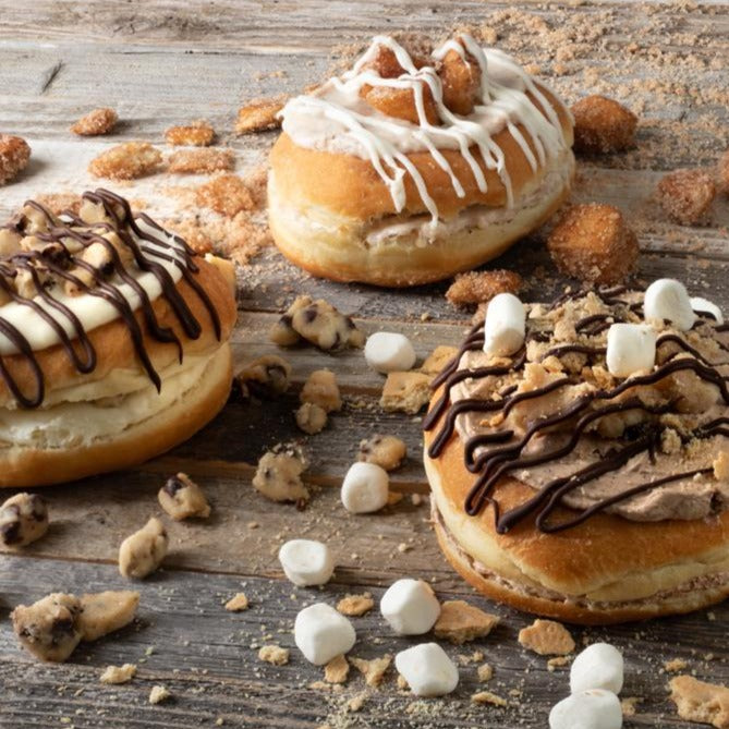 Build Your Own 4 Pack of Cookie Doughnuts
