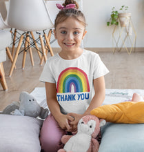 Load image into Gallery viewer, Thank You Rainbow Toddler Tee (2-6T)