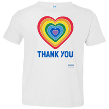 Load image into Gallery viewer, Thank You Heart Toddler Tee (2-6T)