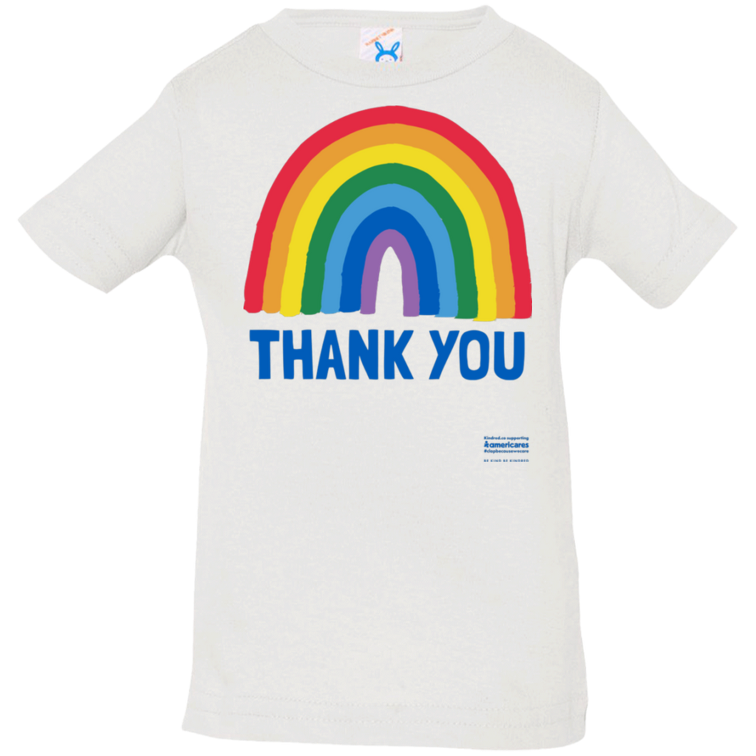 Thank You Rainbow Infant Tee (6-24m)