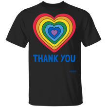 Load image into Gallery viewer, Adult Thank You Heart T-shirt