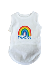 Load image into Gallery viewer, Dog Rainbow Thank You Tee