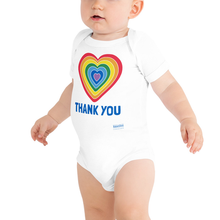 Load image into Gallery viewer, Thank You Heart Babie Onesie