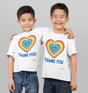 Thank You Heart Toddler Tee (2-6T)