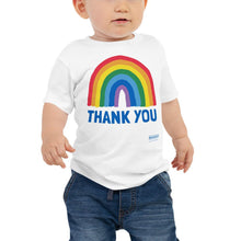 Load image into Gallery viewer, Thank You Rainbow Infant Tee (6-24m)