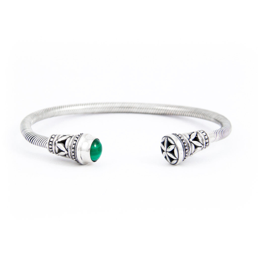 Timeless Island Malachite Cuff