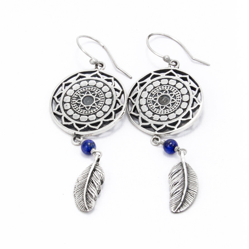 Infinite Lapis Earrings