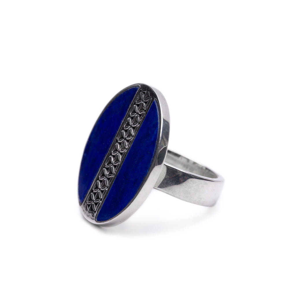 Latitude Lapis Ring