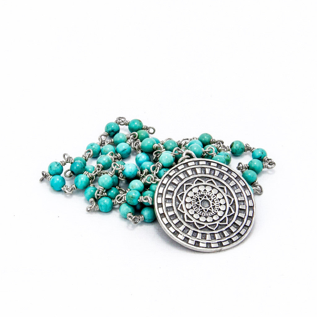 Inner Circle Turquoise Necklace