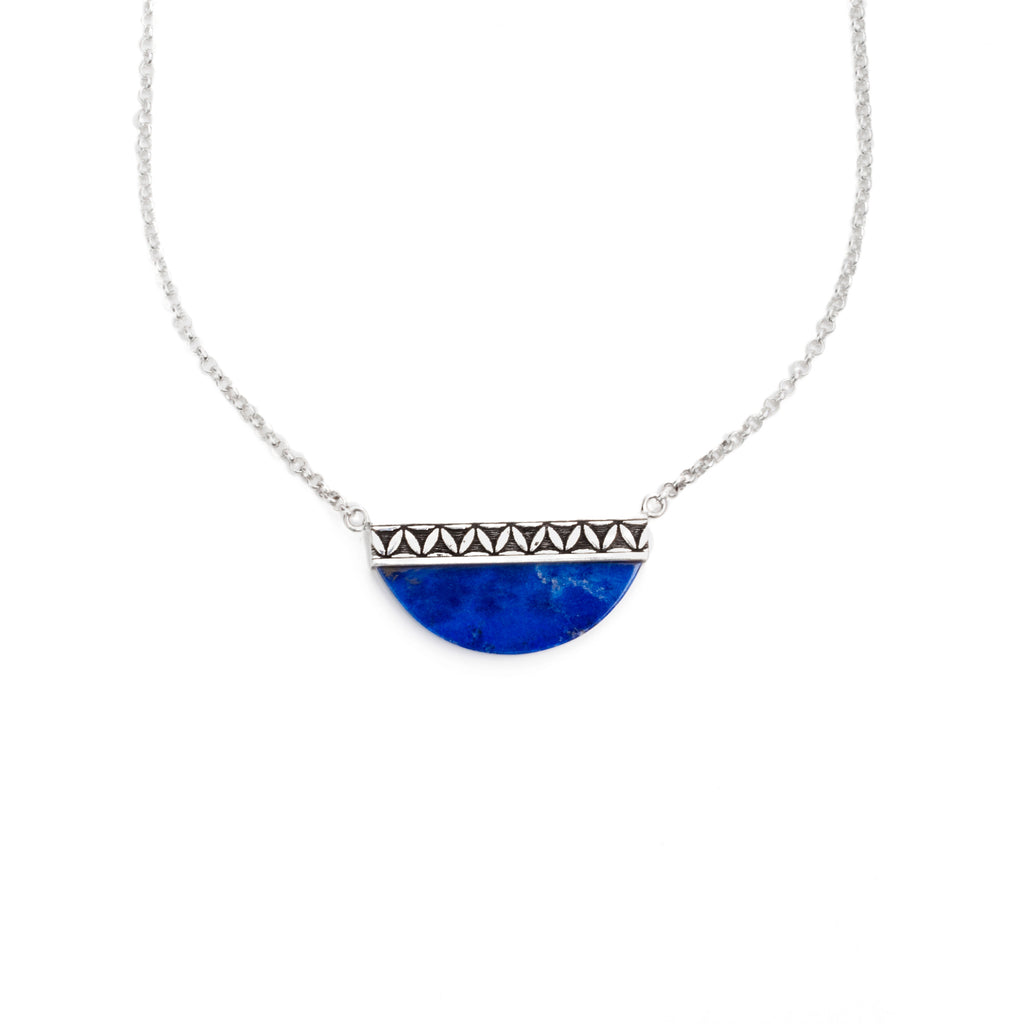 Moonchild Lapis Necklace