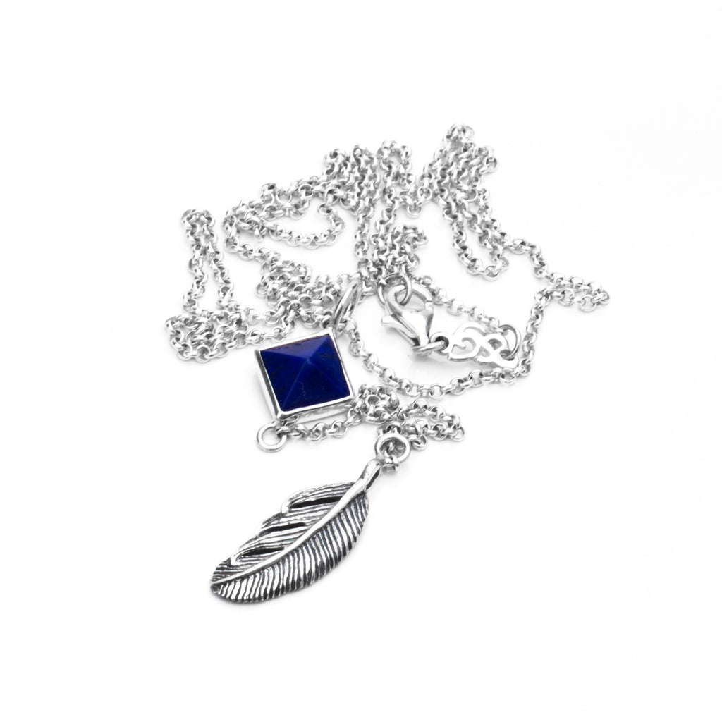Jasmin Feather Necklace