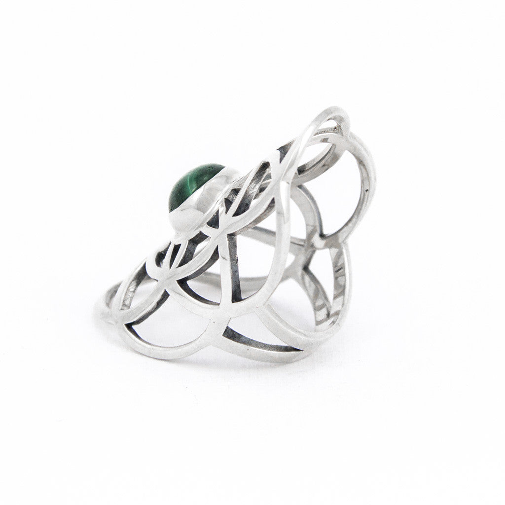 Harmony Malachite Ring