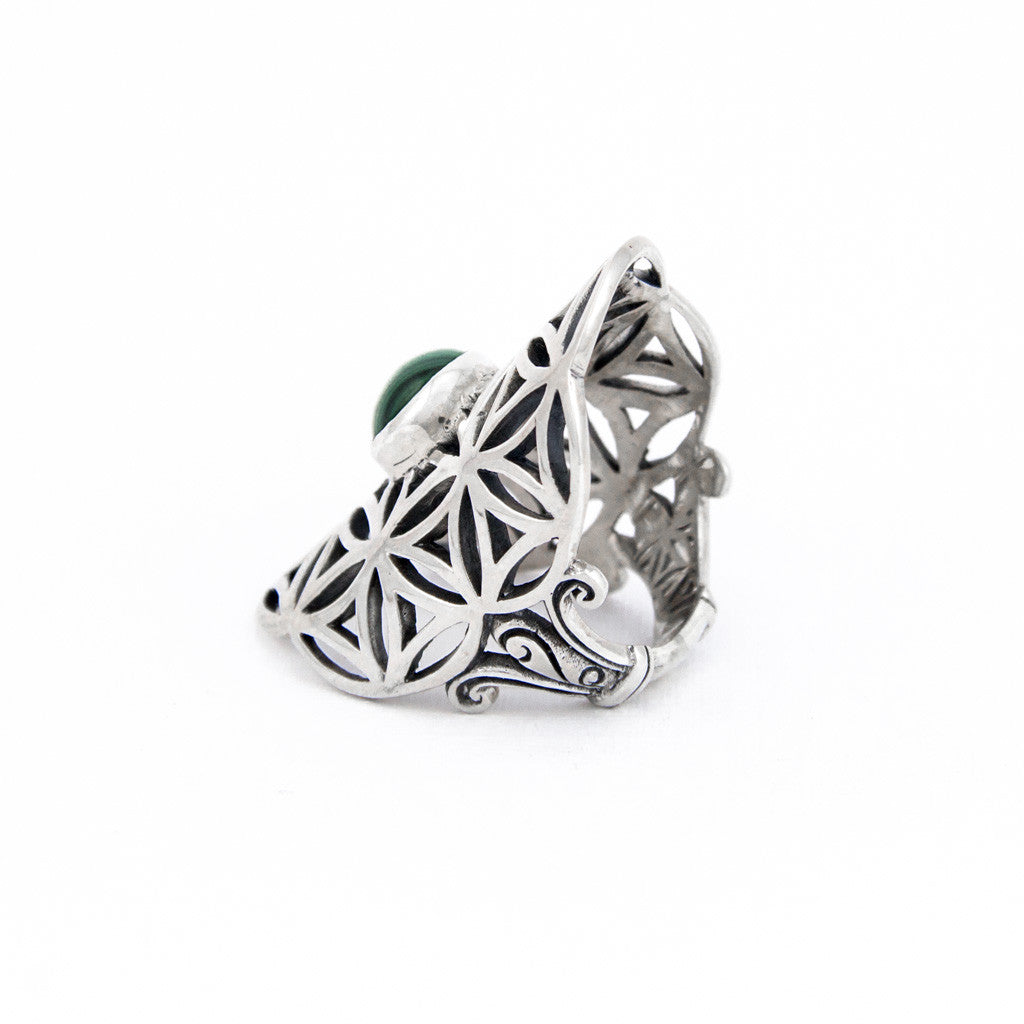 Dreamweaver Malachite Ring