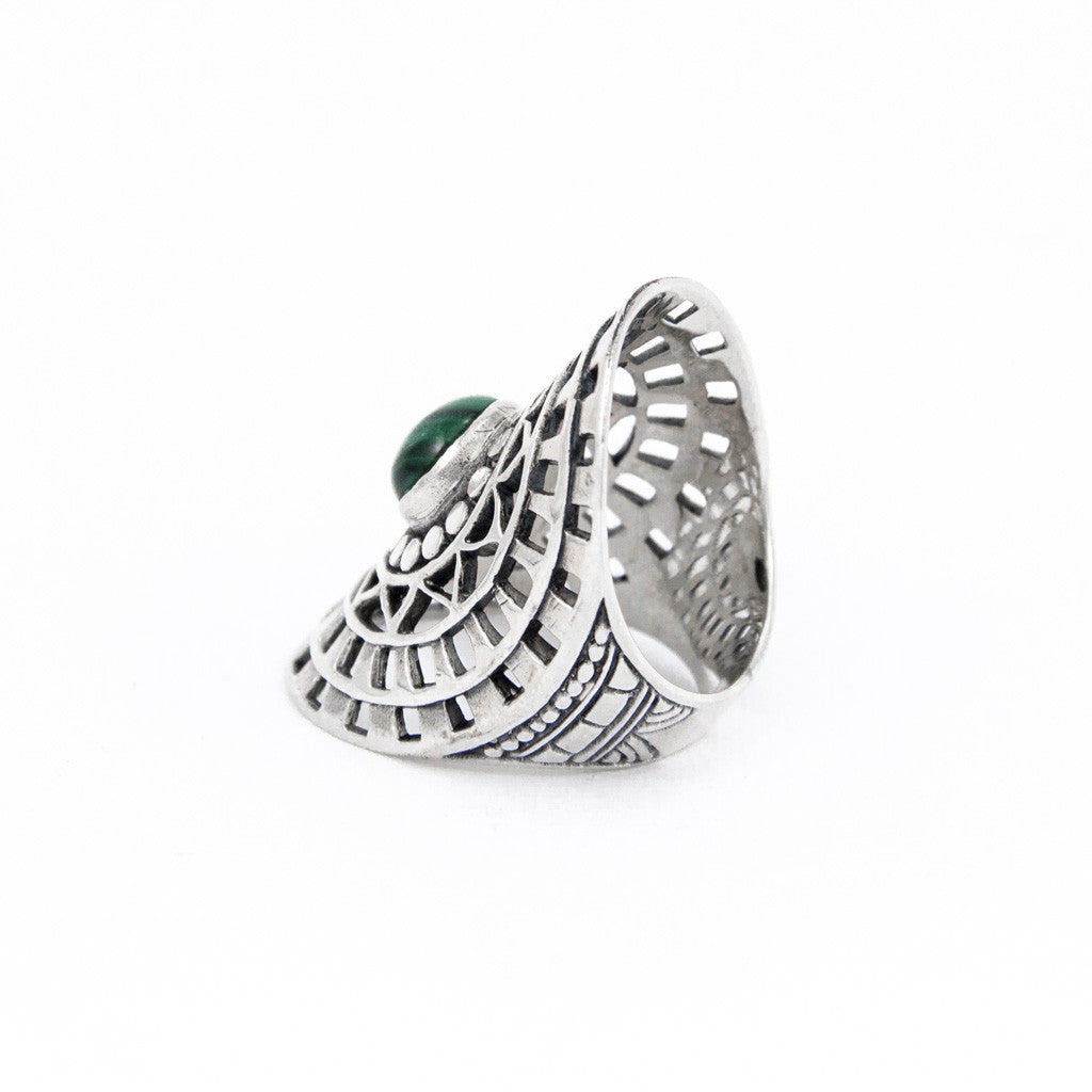 Endless Love Malachite Ring