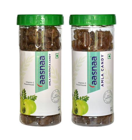 Combo Offer- Sweet Amla Candy 500GM + Chatpata Amla Candy 500GM