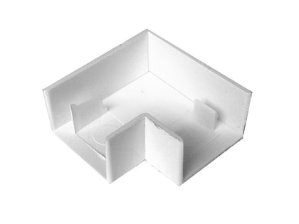 MINI TRUNKING 16x16mm Flat Angle White