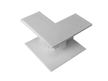 MINI TRUNKING 16x16mm Internal Angle White
