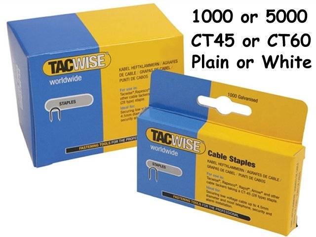 (1 Pack x1000) TACWISE CT45 Staples PLAIN