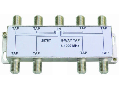 Internal 8/12 'F' Type Tap (5-1000mhz)