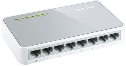 TP-LINK 8 Port Network Desktop Switch 10/100
