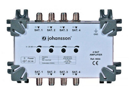 JOHANSSON Amplifier 4 x SAT