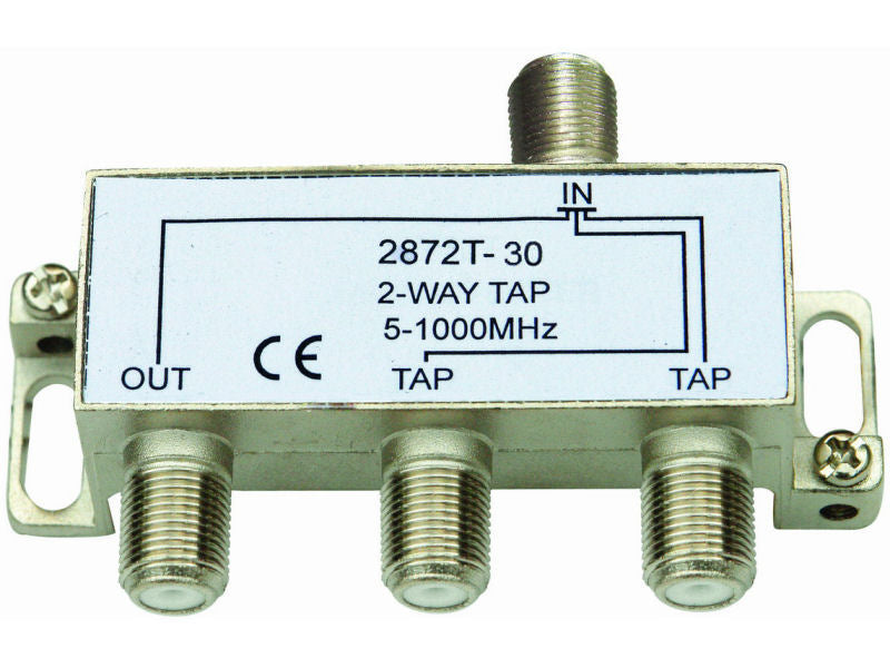 INTERNAL 2/30 'F' Type Tap (5-1000MHz)
