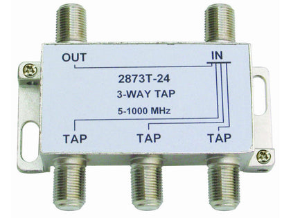 INTERNAL 3/24 'F' Type Tap (5-1000MHz)
