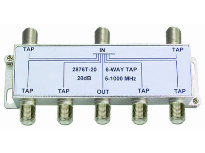 INTERNAL 6/20 'F' Type Tap (5-1000MHz)